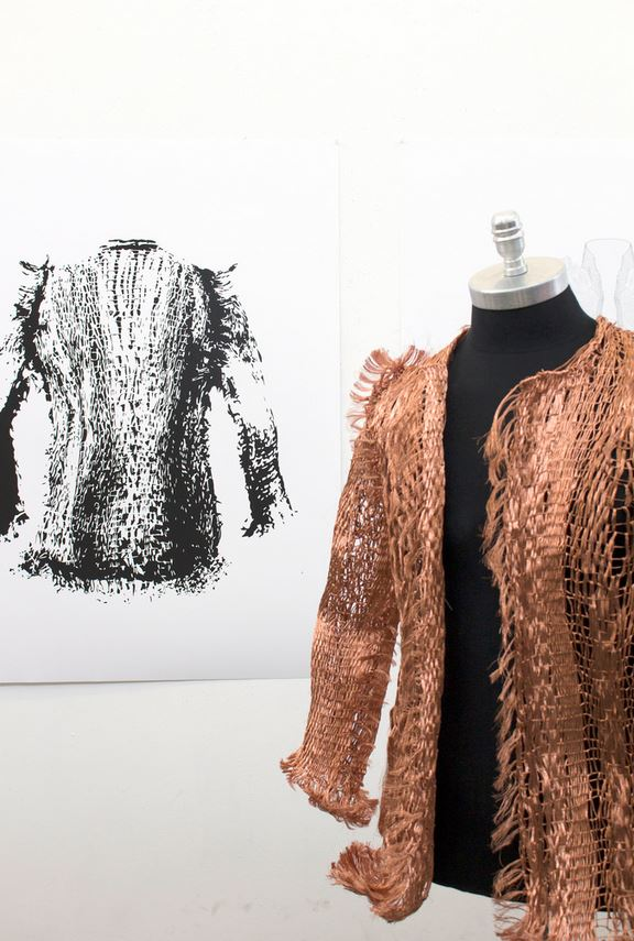 Jacket Made From Copper Wire