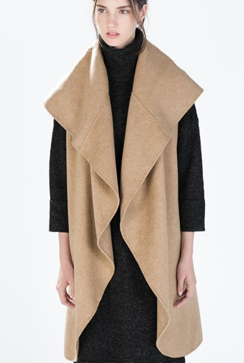 Click The Image Above To Shop This Coat @ Zara