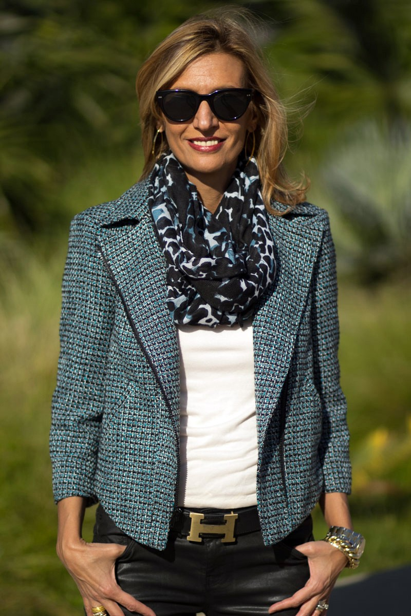 Win A Jacket Society Womens Boucle Moto Jacket