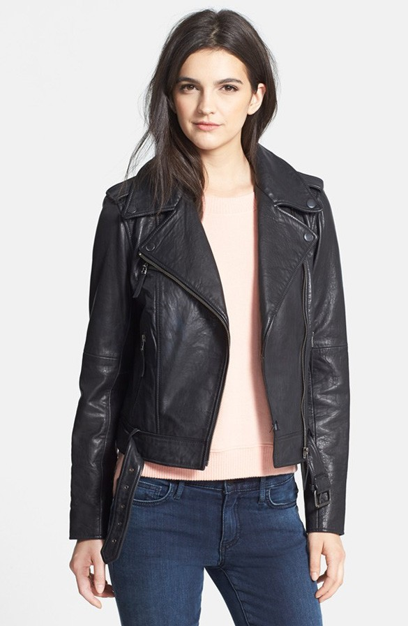 History of the leather jacket -1.  Nordstrom