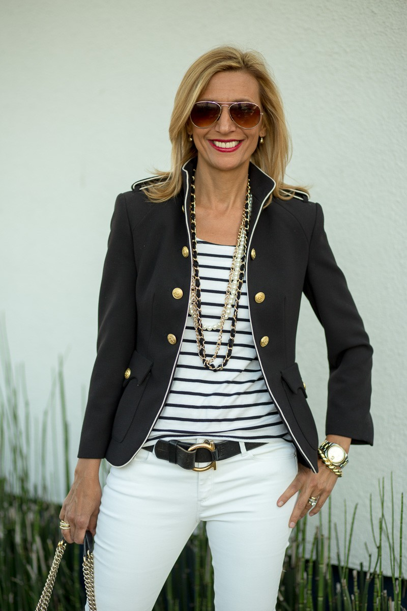 Jacket Society My Military Jacket With A Nautical Twist-3305