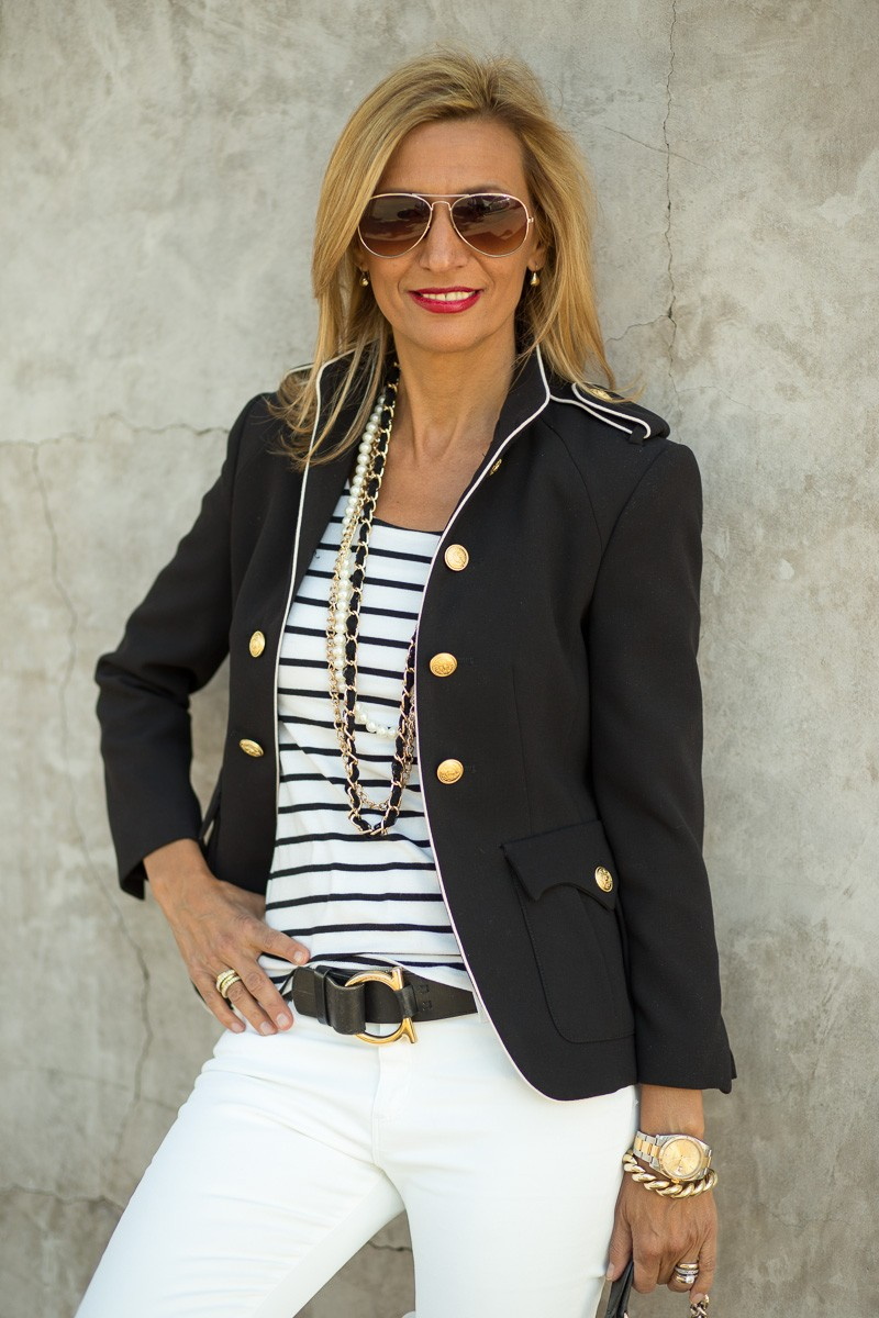 Jacket Society My Military Jacket With A Nautical Twist-3312