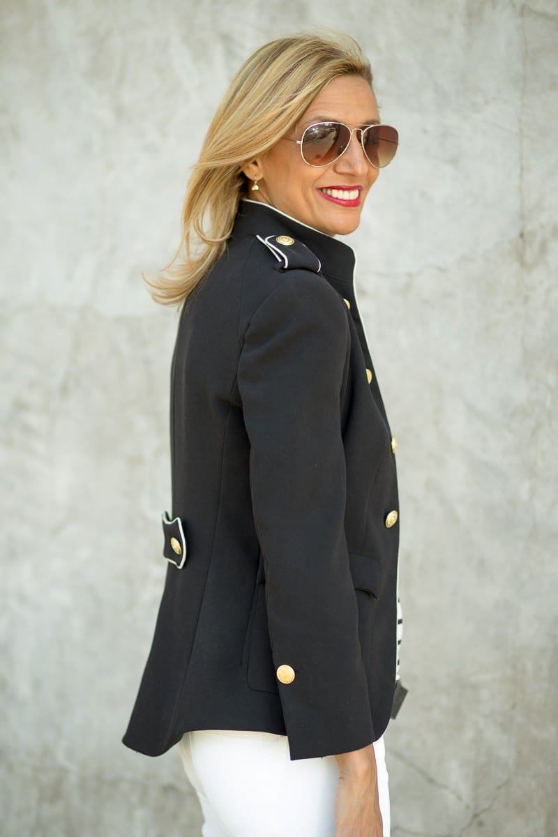 Jacket Society My Military Jacket With A Nautical Twist-3314