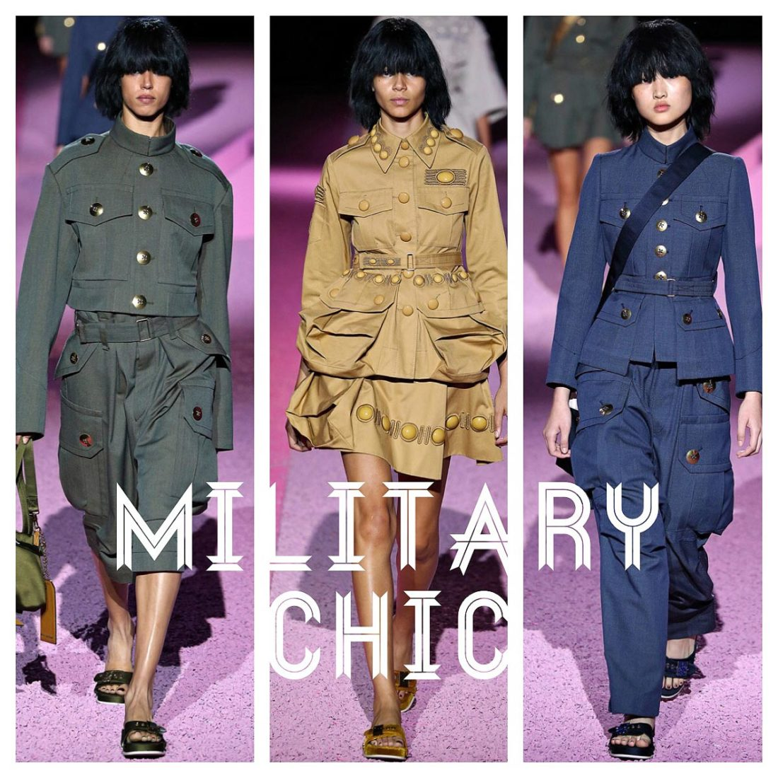 Spring 2015 Trend: MilitaryChic