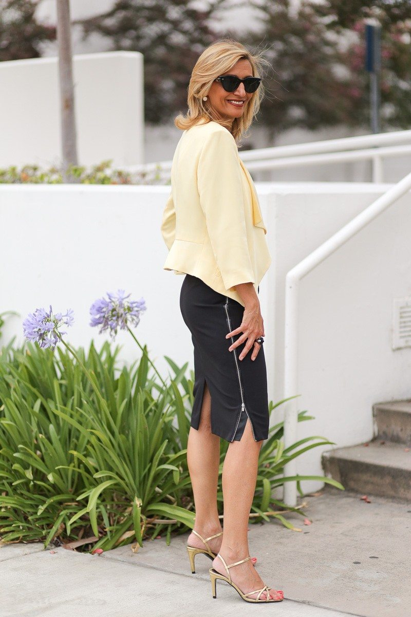 Jacket-Society-Our Soft Lemon Drop Jacket Styled For The Office-4916