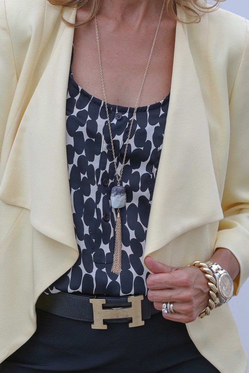 Jacket-Society-Our Soft Lemon Drop Jacket Styled For The Office-4936