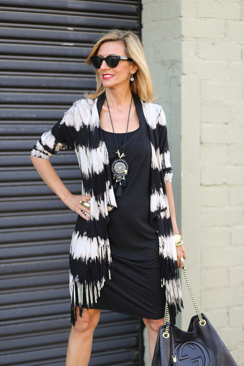 Jacket-Society-Introducing Our Tie Dye Fringe Cardigan -9229