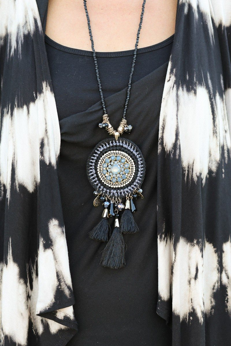 Jacket-Society-Introducing Our Tie Dye Fringe Cardigan -9294
