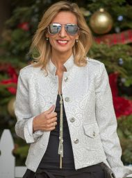 Platinum-Silver-Jaquard-Holiday-Blazer-Jacket-Society