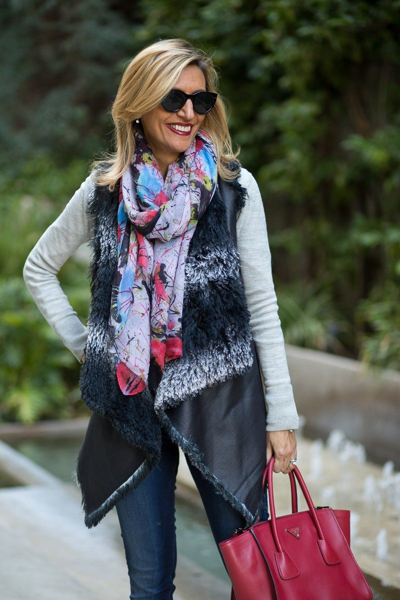 Jacket-Society-A Second Look At Our Cloud Faux Leather And Fur Vest-2305