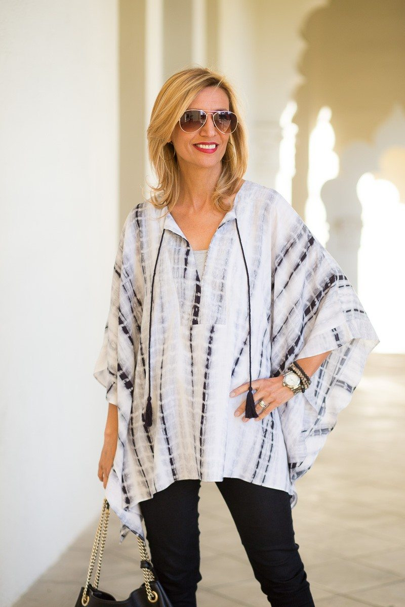 Jacket-Society-Our New Gray And Black Print Kaftan-3239