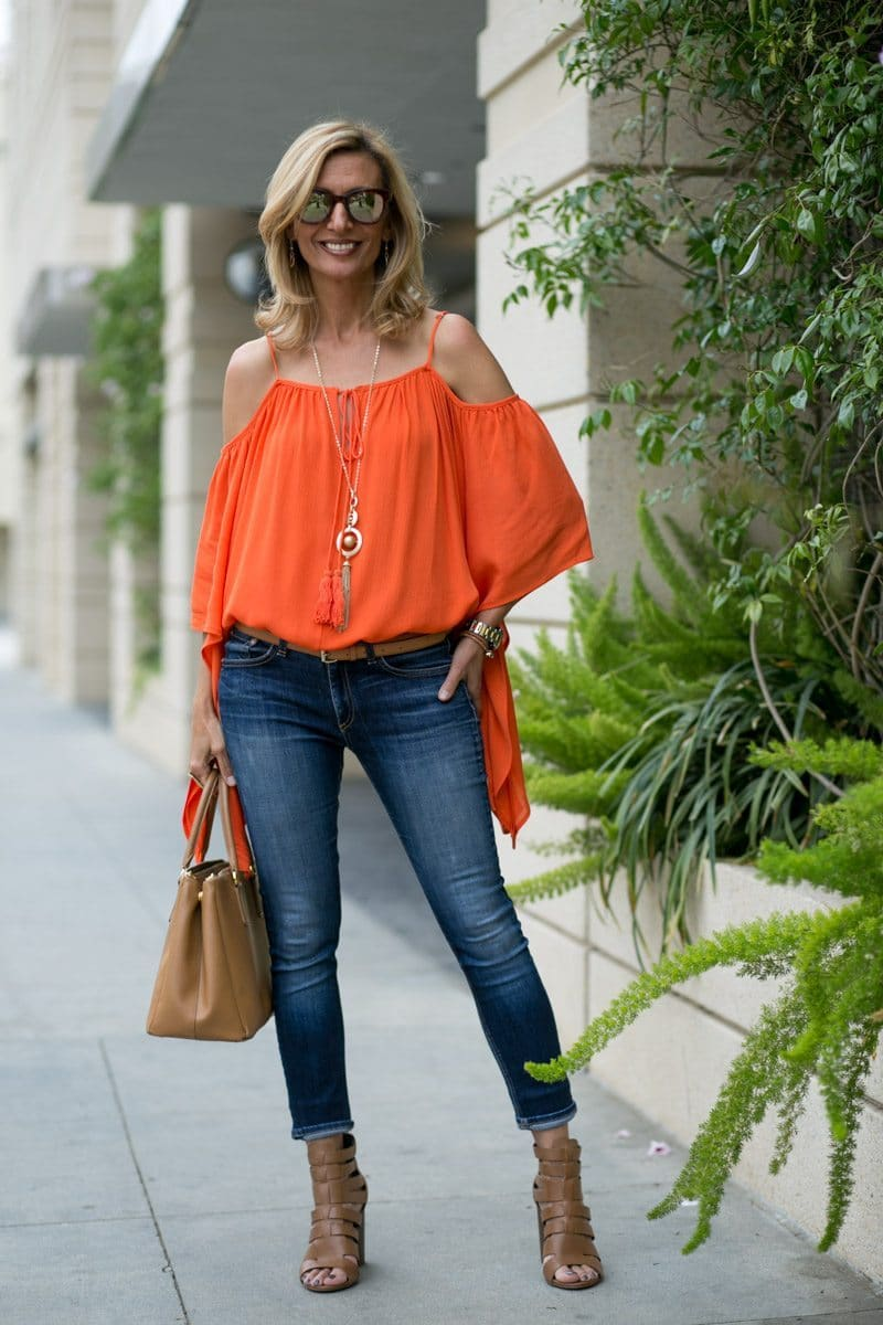orange-Cold-Shoulder-Top-Jacket-society-4731