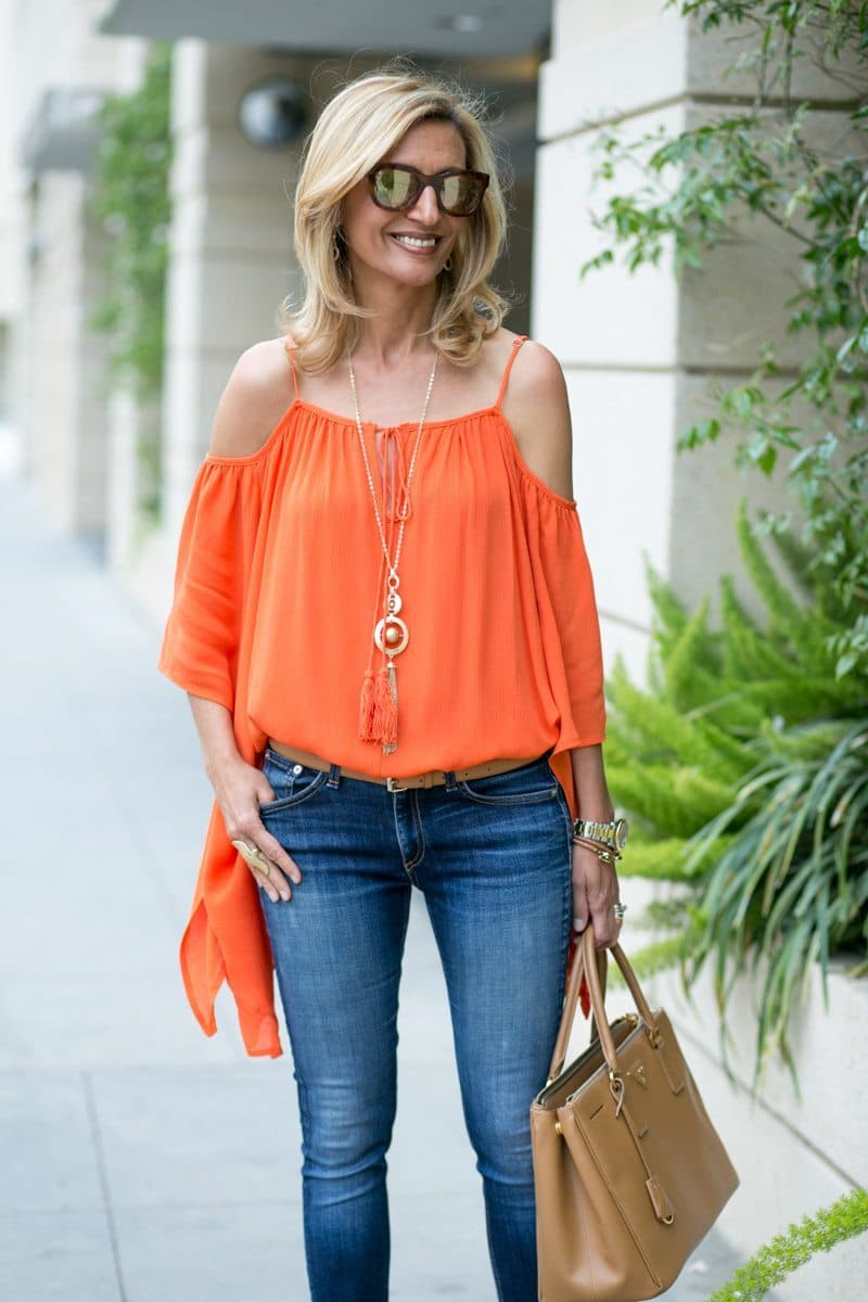 orange-Cold-Shoulder-Top-Jacket-society-4737