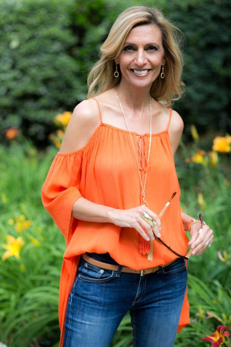 orange-Cold-Shoulder-Top-Jacket-society-4751