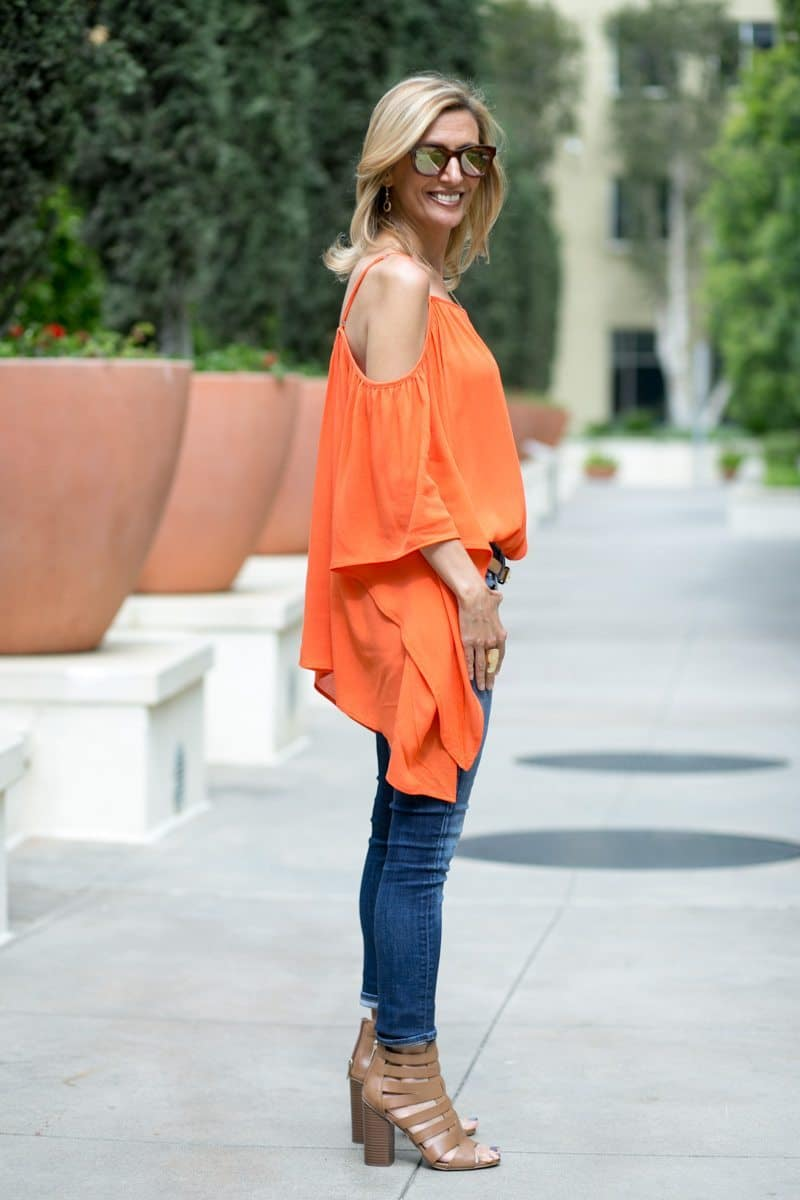 orange-Cold-Shoulder-Top-Jacket-society-4757