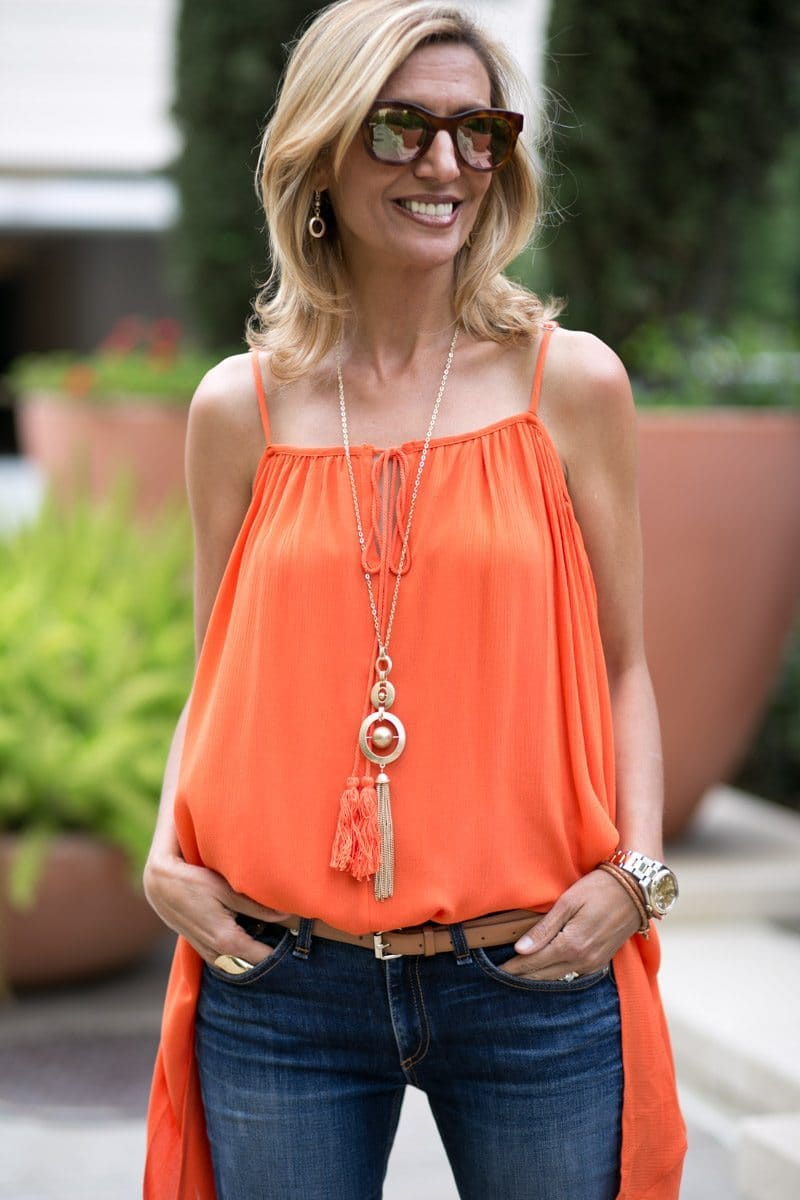 orange-Cold-Shoulder-Top-Jacket-society-4785