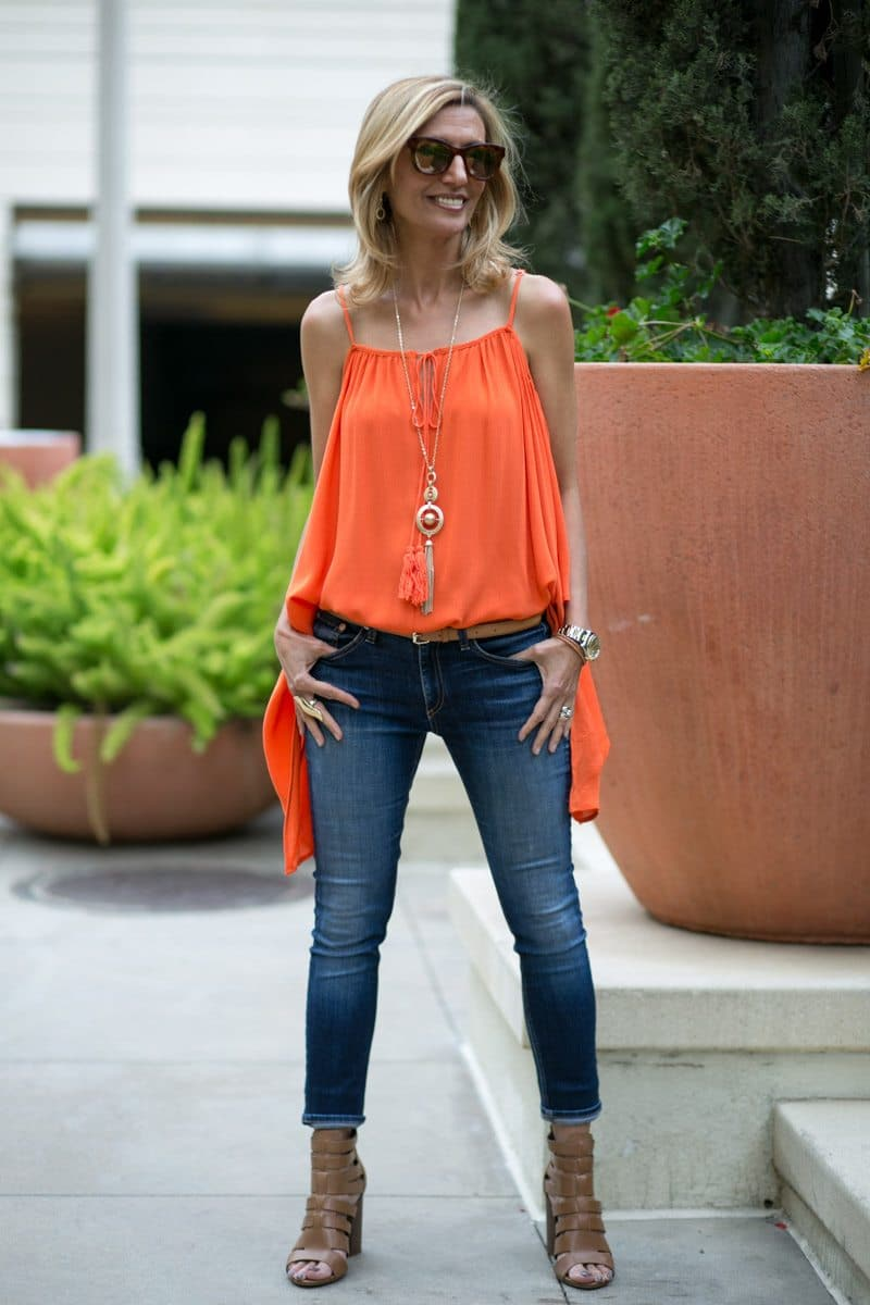 orange-Cold-Shoulder-Top-Jacket-society-4792