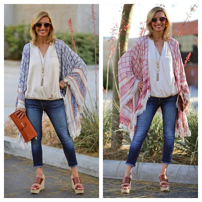 Boho Ponchos from jacket society