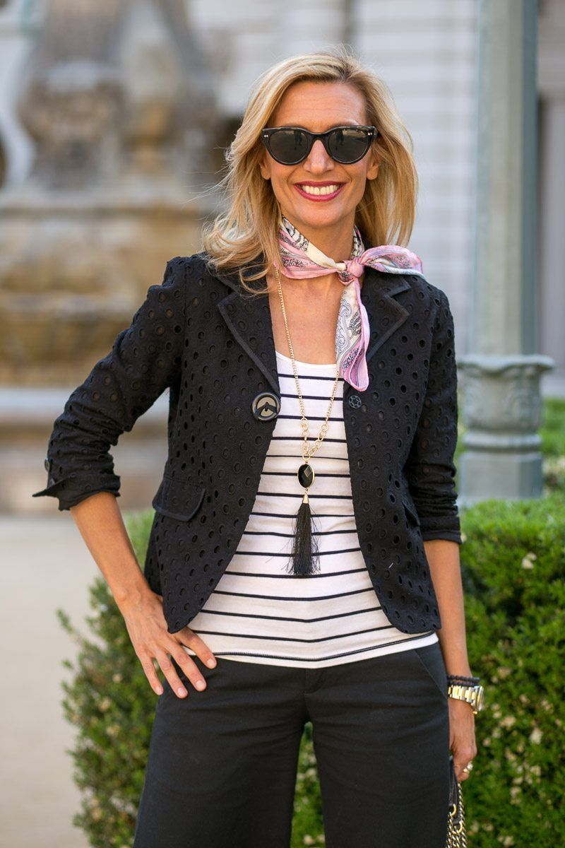 Black-Eyelet-Jacket-Silk-scarves-Jacket-Society-5463