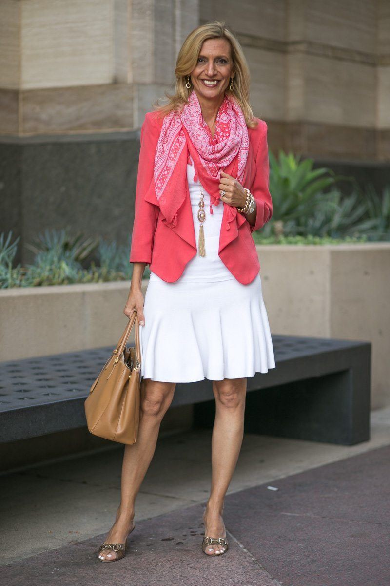 How-To-Pop-An-All-White-Outfit-with-color-Jacket-Society-5292