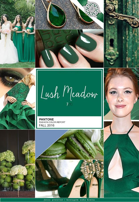 pantone color lush meadow