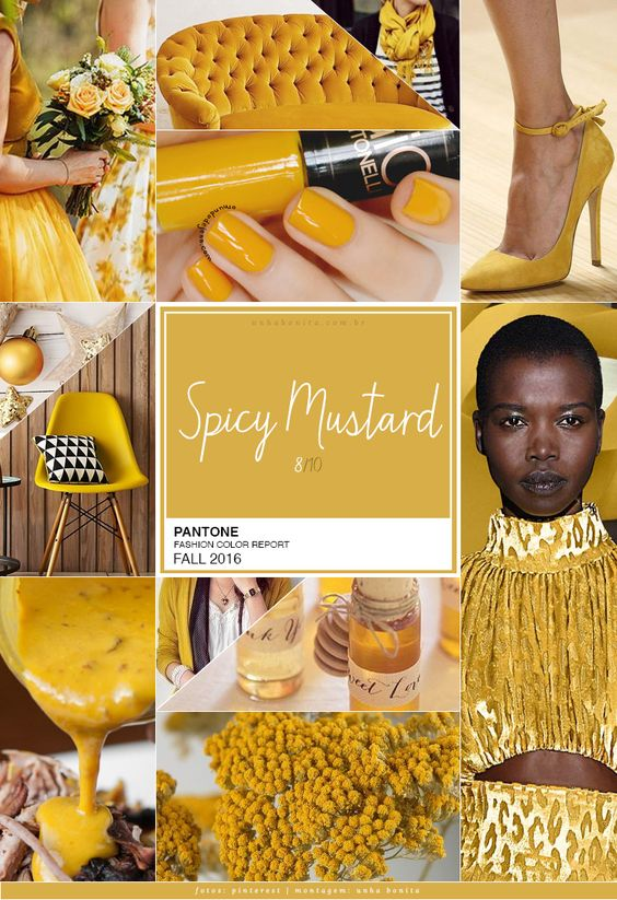 pantone color spicy mustard