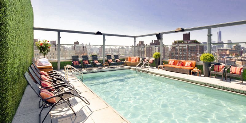 Gansevoort Hotel - Meat Packing District - Roof Top Pool