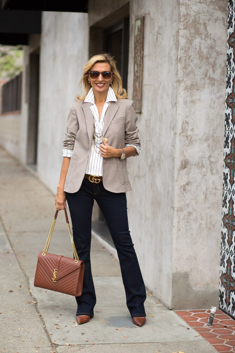 How To Style Our Watson Houndstooth Blazer For Fall