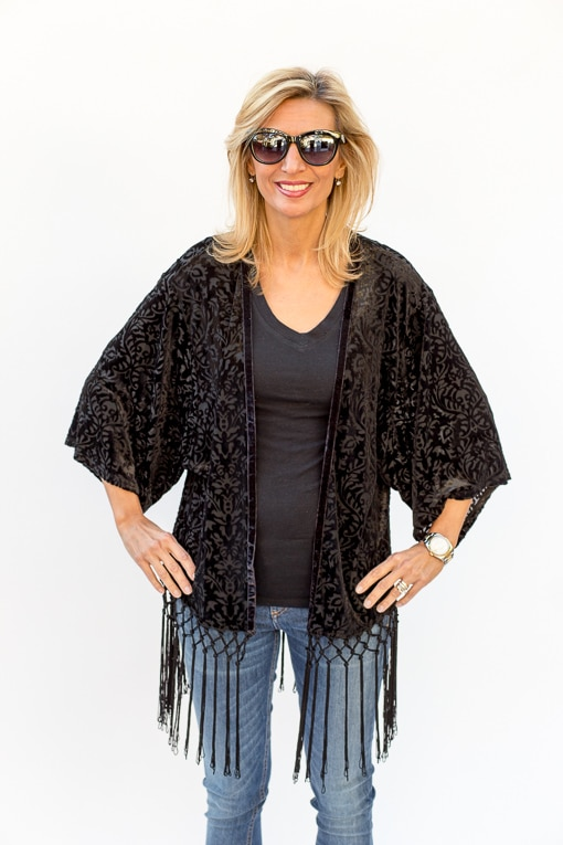 Black-Velvet-Burnout-Kimono-Top-Jacket-Society