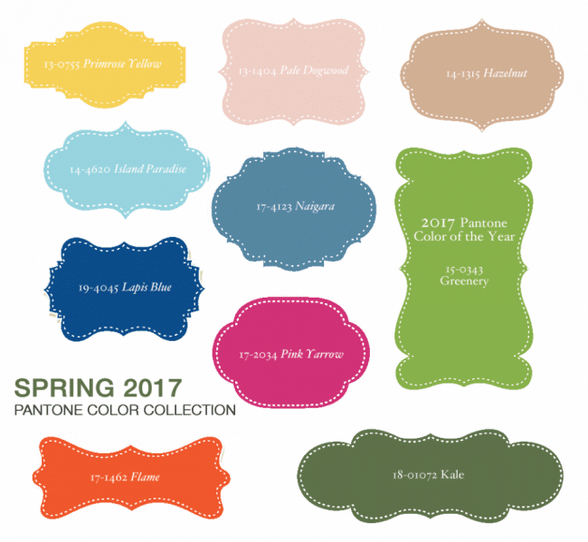 Pantone S Color Report For Spring 2017 Has Some Beautiful