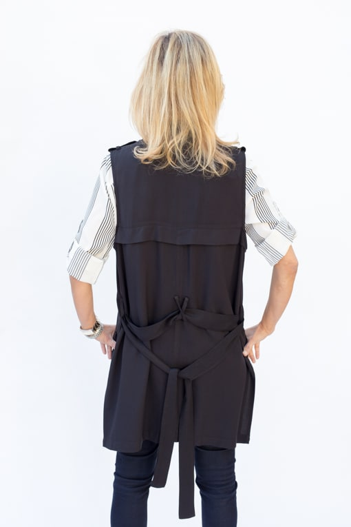 Black-Belted-Long-Moto_Vest-jacket-Society