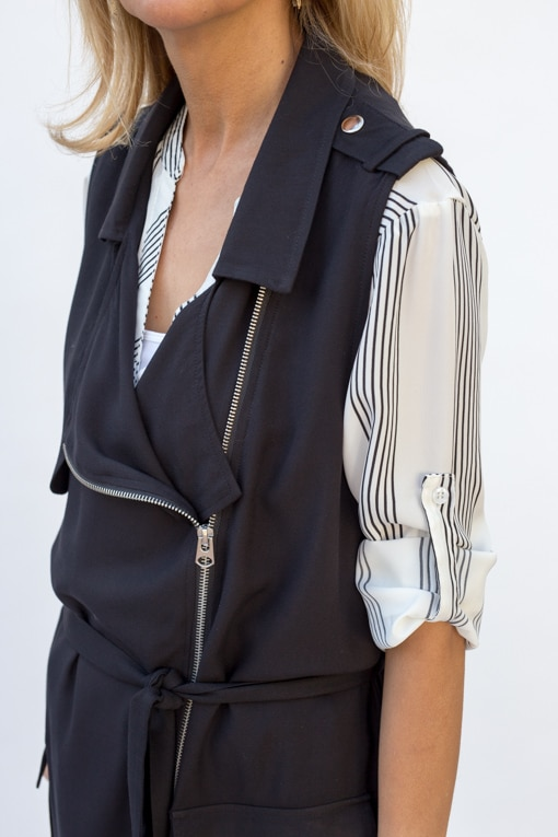 Black-Belted-Long-Moto-Vest-jacket-Society