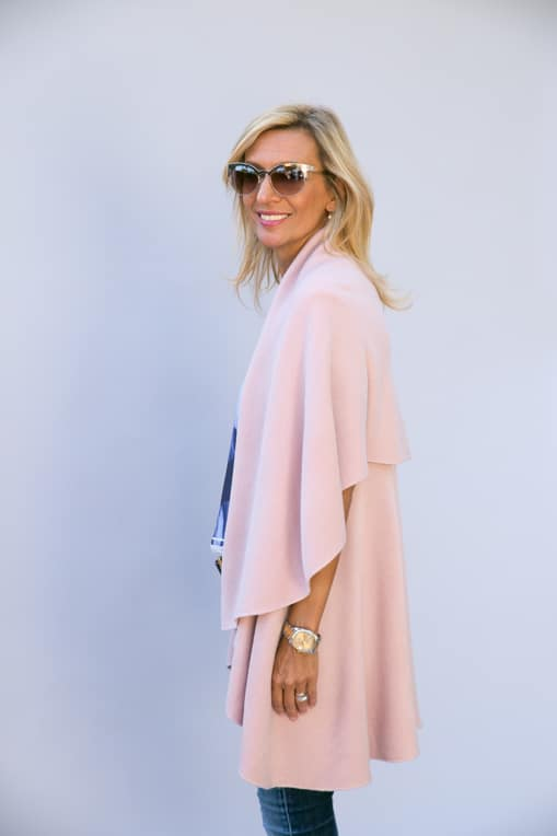 Pale-Pink-Cape-Vest-Jacket-Society