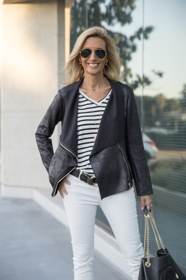 How To Wear White Jeans For Fall And Winter See My Style ...