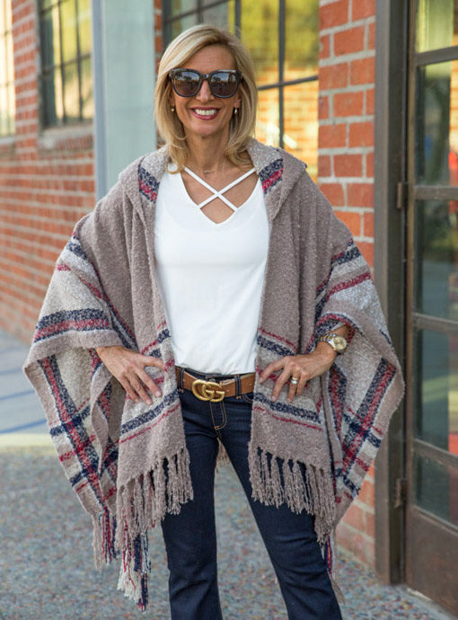 Taupe-Boucle-Hooded-Poncho-feat