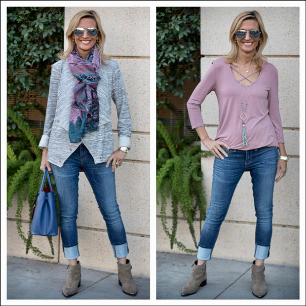 Heather-Grey-Knit-Jacket-For-A-Chic-Look