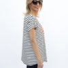 womens-Black-and-Ivory-stripe-with-red-heart