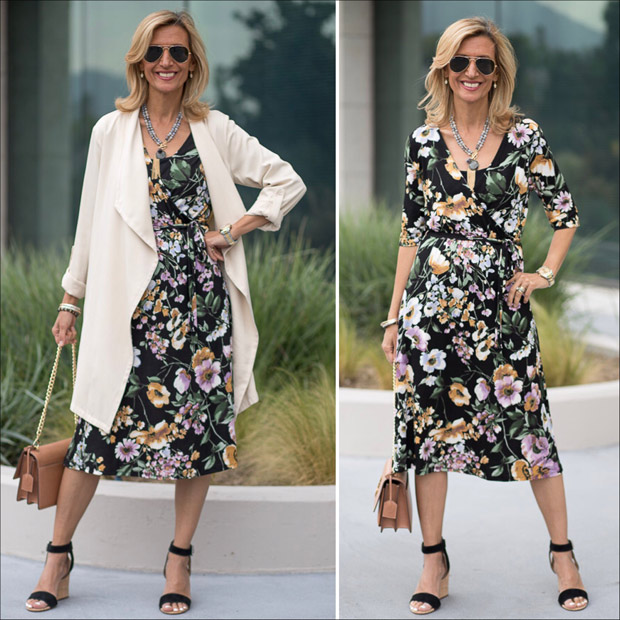 A-Floral-Faux-Wrap-Spring-Dress-For-Mothers-Day