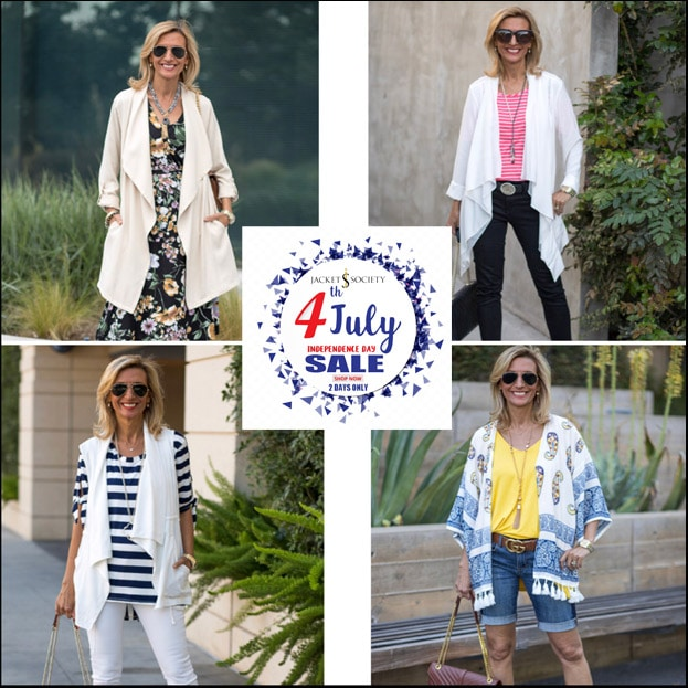 forth of july sale jacket society