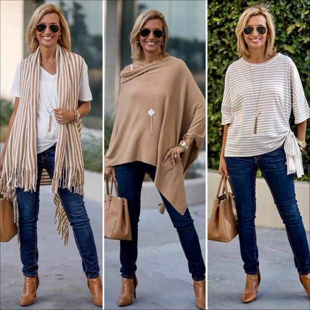 tan and ivory are a great classic and chic color combination