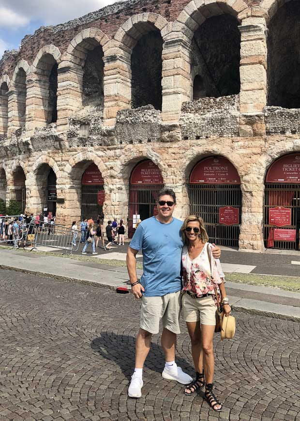 Our Trip To The beautiful city of Verona Italy To Celebrate My Birthday