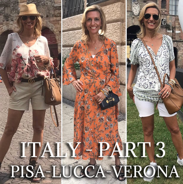 Our Trip To Italy Part 3 - Verona Pisa and Lucca