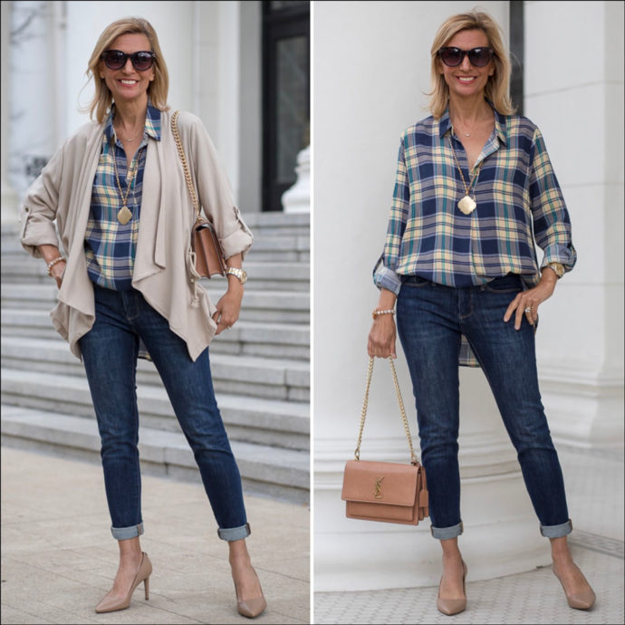Neutral And Plaid Wardrobe Essentials For Women This Spring