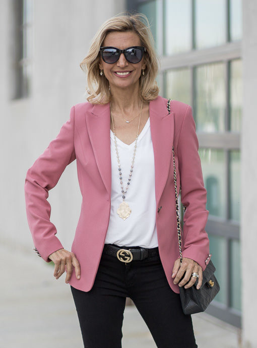 The Rosalie One Button Blazer