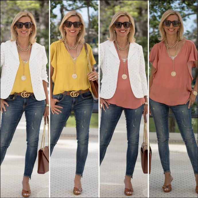 A-Summer-Jacket-Styled-With-Two-Great-Tops-featured