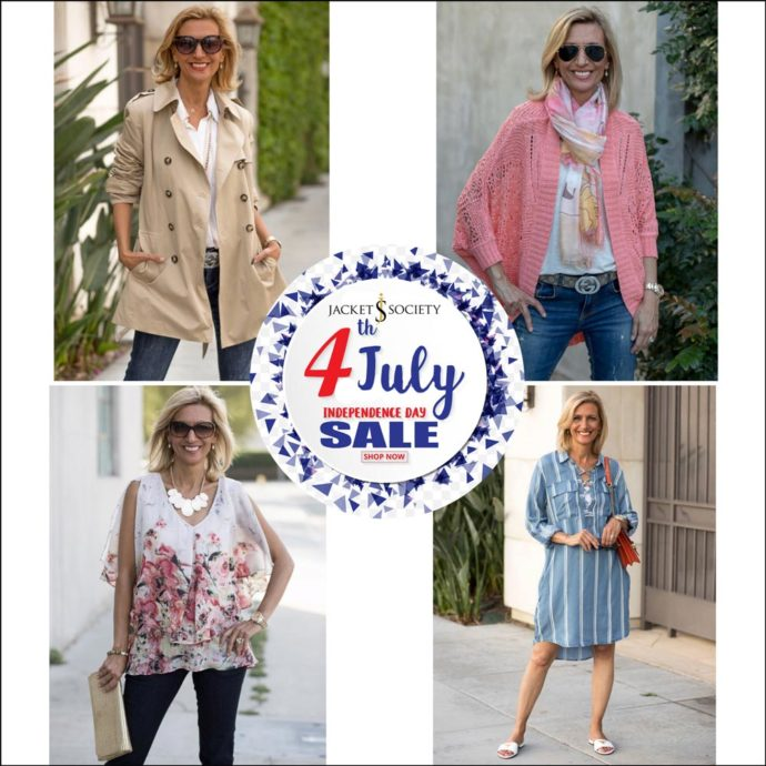 jacket society July fourth sale save