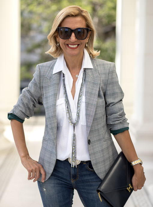 The Cambridge Glen Plaid Blazer