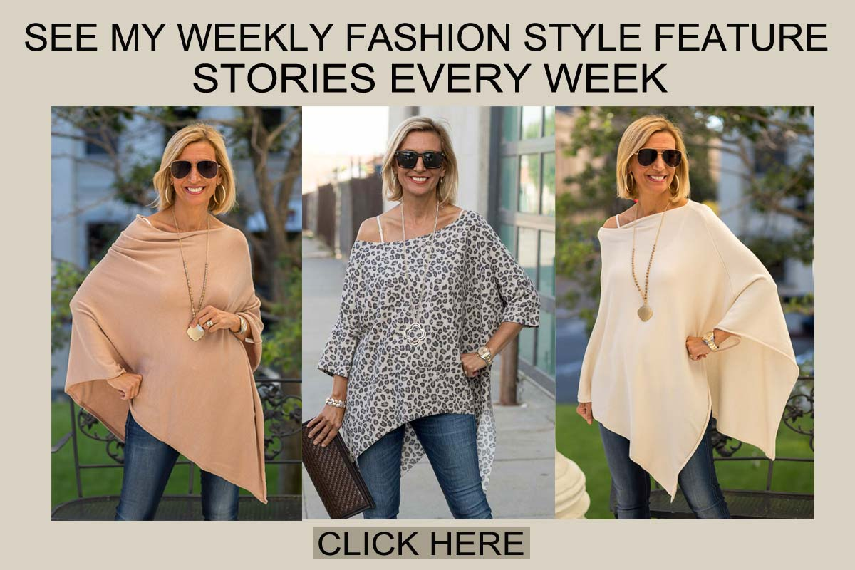 Get tips on fashion and styling for over forty women - Nora Minassian blogger