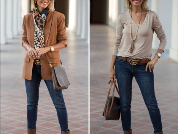 A Beautiful Fall Blazer For Women In A Chestnut Rust Color