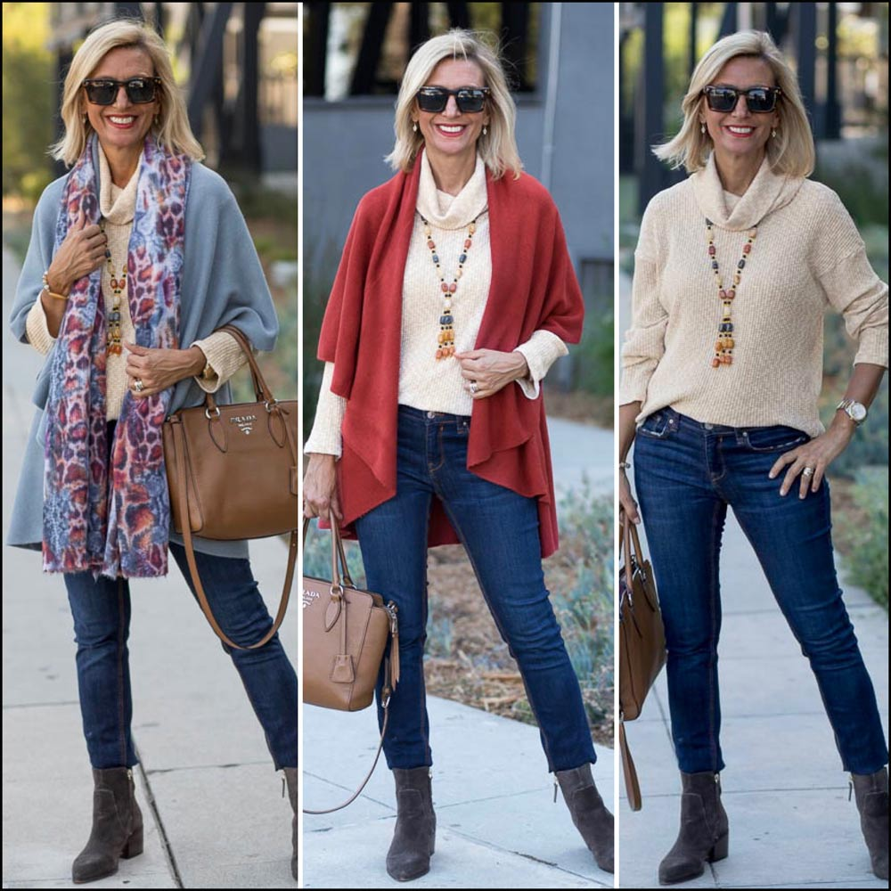 Fall Cape Vests in new colors for women